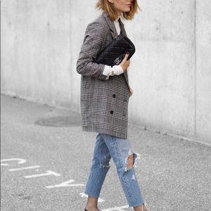Lauren houndstooth blazer